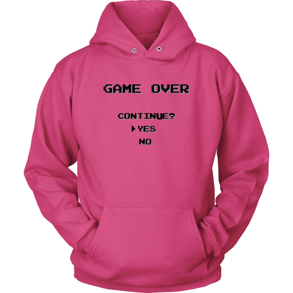 Unisex Hoodie Game Over T-shirt buy now