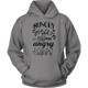 Womens Hoodie Hungry Girls Are Angry Girls