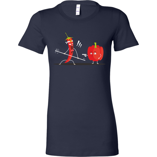 Womens Shirt Chili vs Paprika T-shirt buy now