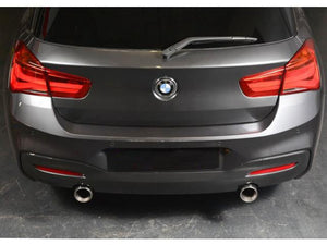 BMW M140i Sport Cat Back Exhaust Resonated 2015 Models onwards Manual Gearbox