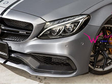 Load image into Gallery viewer, C63 AMG Carbon Fiber Front Splitter
