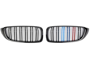 BMW 1 Series F20 grill Tri Colour