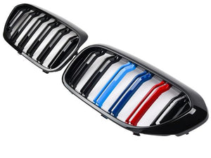 BMW G30 Grill 5 Series M Performance Tri Colour