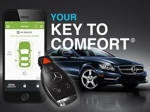 Remote Key Start Mercedes with Smartphone Control
