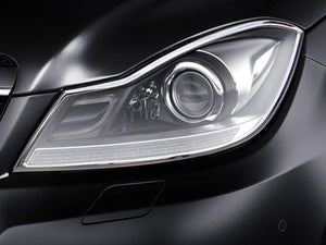 W204 C Class Chrome headlamp surrounds models From 04/2011