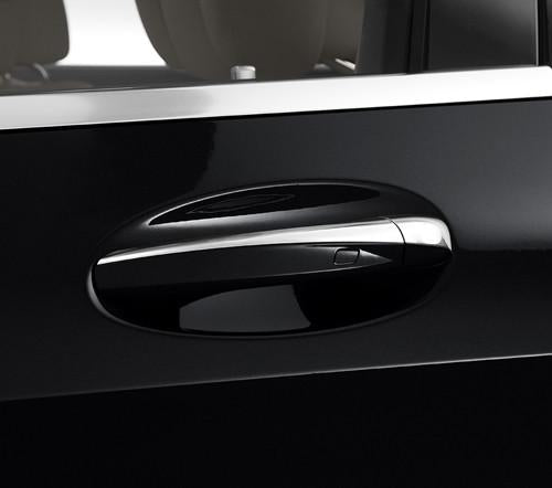 Chrome door handle covers Set Left Hand Drive Vehicles C205 C Class Coupe Cab C238 E Class Coupe Cab