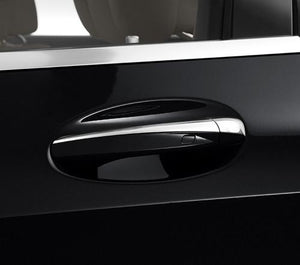 Chrome door handle covers Set Left Hand Drive Vehicles W205 C Class W213 E Class C292 GLE Coupe X253 GLC