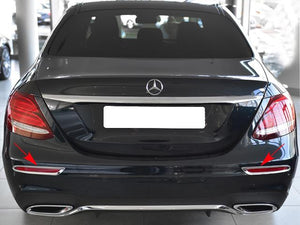 Chrome Reflector Frames for Mercedes E Class W213 Sedan from 03/2016
