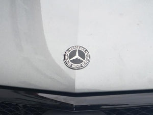 Mercedes black bonnet emblem badge logo