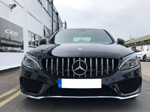 AMG GTS Grill