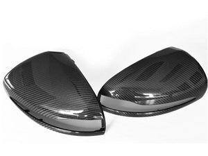 Carbon Fibre Fiber Mirror Covers Left Hand Drive vehicles