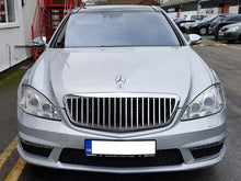 Load image into Gallery viewer, W221 S Class Maybach Style Grille Grill S600 Black
