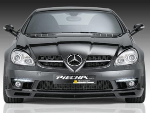 Piecha RS Front Spoiler with LED Daytime Running Lamps for all R171 SLK models
