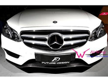 Load image into Gallery viewer, AMG Line E Class Carbon Fibre Front Spoiler Facelift models from 04/2013