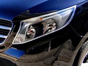 W447 V Class and Vito Chrome Headlamps Surrounds Set