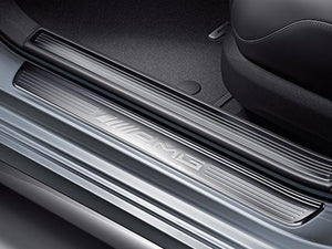 AMG Embossed door sills W204 C Class Coupe