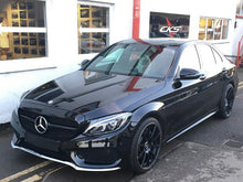 Load image into Gallery viewer, black grille mercedes c class