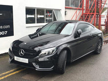 Load image into Gallery viewer, black grill mercedes c class