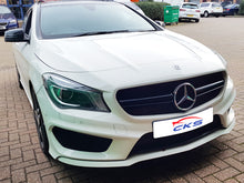 Load image into Gallery viewer, AMG CLA45 Sport Bonnet Hood Grille Gloss Black