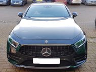 AMG Panamericana Grille Black with Black bars C257 CLS