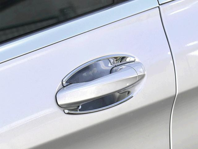 Chrome Door Handle Shells Set