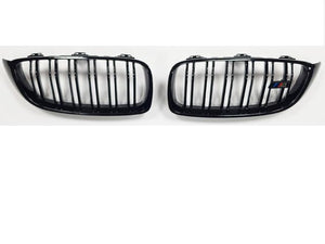 bmw f32 black kidney grill