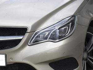 W207 E Class Chrome headlamp surrounds Set models from 05/2013