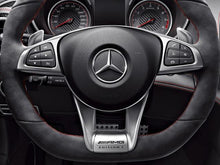 Load image into Gallery viewer, AMG Edition 1 Steering wheel Trim Insert Brushed Aluminium