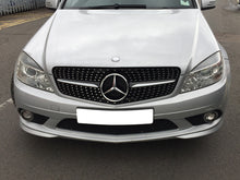 Load image into Gallery viewer, W204 C Class Sport Grille Diamond Look