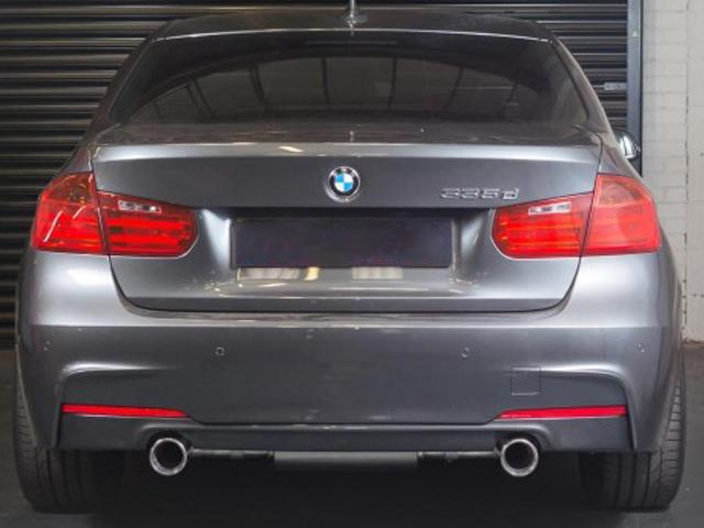 BMW F30 335d Sport Exhaust Dual Exit