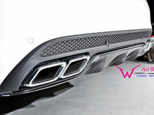 Load image into Gallery viewer, C63 AMG Carbon Fibre Diffuser