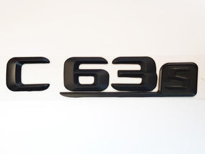 C63s Black Badges