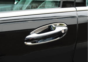Chrome door handle shells W221 S Class W216 CL