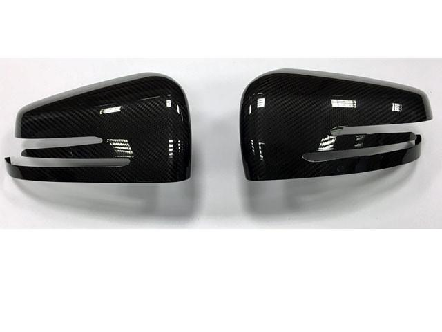 Carbon fibre Style wing mirror Covers Set