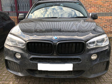 Load image into Gallery viewer, BMW F15 F85 X5 Kidney Grill Grille Grills Matt Black 2014 ONWARDS