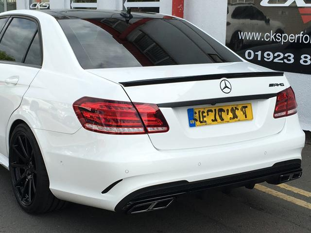 CKS W212 E63 Style Sport Exhaust Facelift Saloon and Estate Models