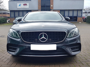 AMG Panamericana Grille All Black - Models with OR without 360 degree camera - NOT FOR AMG E63