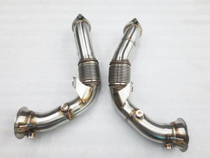 BMW X5M X6M Turbo downpipe kit Left and Right