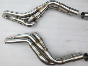 C63 AMG Sport Exhaust System Long Tube Headers + Downpipes + Sport Cats