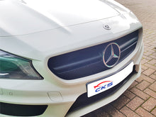 Load image into Gallery viewer, AMG CLA45 Sport Bonnet Hood Grille Matt Black