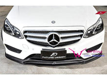 Load image into Gallery viewer, AMG Line E Class Carbon Fibre Front Spoiler Facelift W212 models from 04/2013