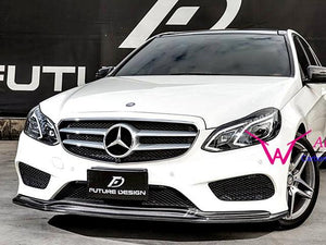 AMG Line E Class Carbon Fibre Front Spoiler Facelift W212 models from 04/2013
