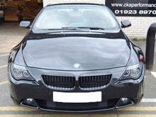 Load image into Gallery viewer, BMW E63 Kidney Grill black