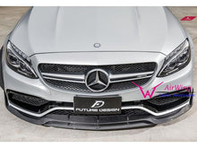 Load image into Gallery viewer, AMG C63 Carbon Fibre Front Splitter