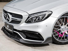 Load image into Gallery viewer, AMG C63 Carbon Fiber Front Splitter