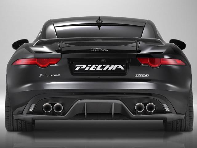 Jaguar F Type Coupe and Cabriolet Carbon Fibre Rear Diffuser for Quad Exhaust