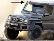 Load image into Gallery viewer, AMG G63 Style Front Roof Wing Spoiler with LED Light Bar
