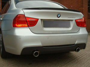 BMW E90 318D 320D Performance Dual Exit Rear Exhaust