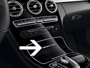 AMG Interior Badge 87mm Length x 8mm Height