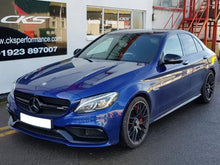 Load image into Gallery viewer, black grille c63 amg